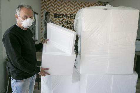 Covid-19: Termotécnica participa de ação, em Joinville, fornecendo embalagens térmicas