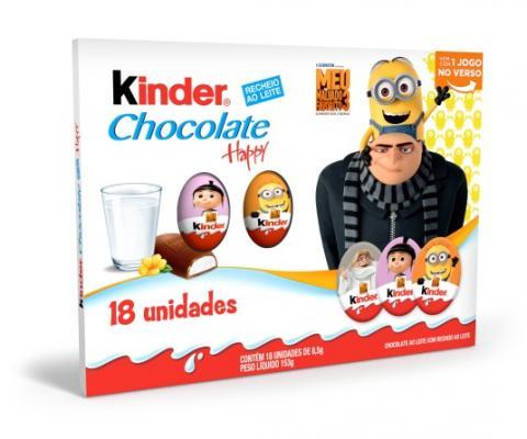 Ferrero apresenta novos produtos e embalagens exclusivas do filme Meu Malvado Favorito