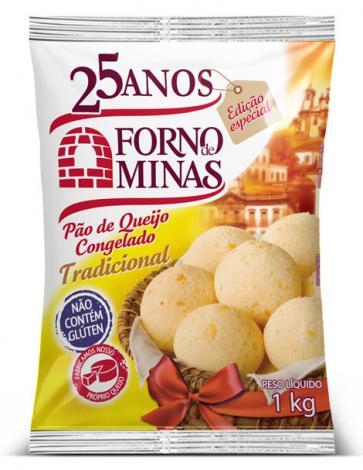 Forno de Minas celebra 25 anos com embalagem especial