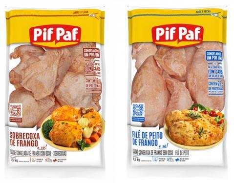 Pif Paf Alimentos lança linha de produtos embalados no sistema IQF