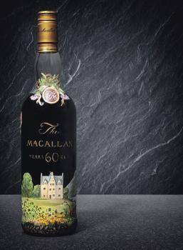 Garrafa de The Macallan 60 anos poderá chegar ao preço de 1 milhão de libras