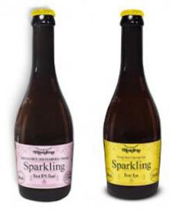 Garrafa Verallia envasa rótulos especiais de cerveja Blondine