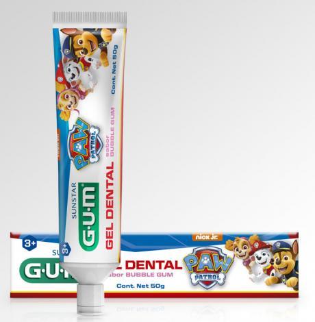 GUM lança pasta de dente da Patrulha Canina