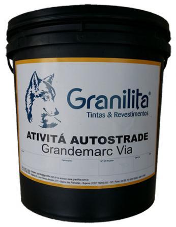 Granilita renova embalagem da tinta Grandemarc Via