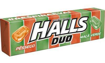 Halls edição limitada: dois sabores em uma mesma embalagem