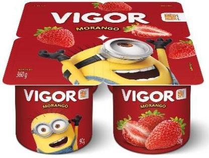Nova versão do iogurte infantil Vigor