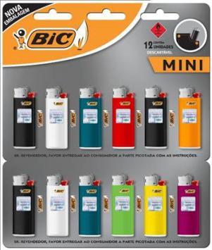 BIC apresenta novas embalagens para linha de isqueiros