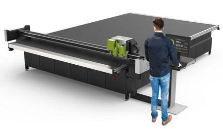 Esko lança a maior mesa de corte digital do mercado para produção contínua
