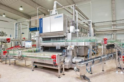 Krones oferece lavadoras de garrafas de acordo com a necessidade do cliente