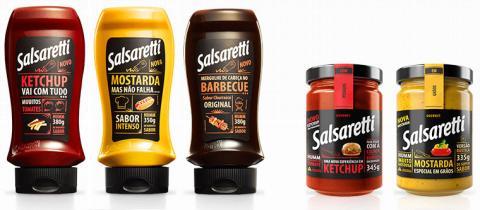 Aptar desenvolve novas embalagens da linha dressing de Salsaretti