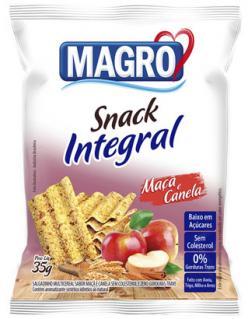 Magro lança linha de snacks integrais