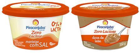Novidades na linha Piracanjuba Zero Lactose