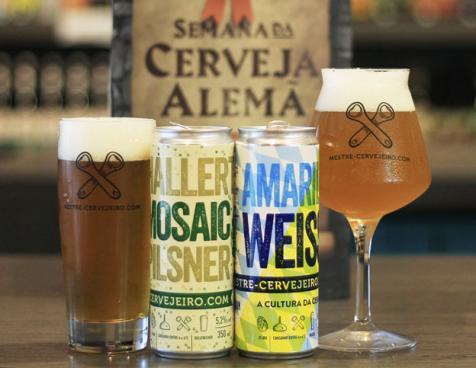 Mestre-Cervejeiro.com lança duas novas cervejas nas versões em lata