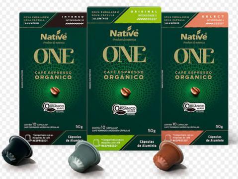 Native renova sua linha de café espresso orgânico em cápsulas