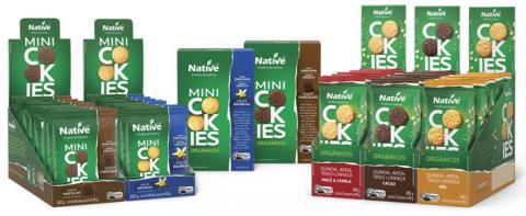 Native renova linha de cookies orgânicos e lança três novos produtos