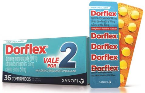 Dorflex apresenta nova embalagem