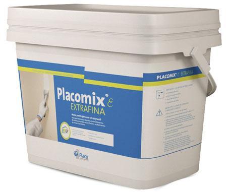 Massa Placomix tem novos nome, embalagens e tamanhos