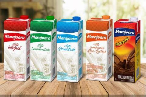 Marajoara reposiciona sua linha de leites e achocolatados