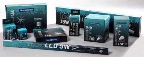 Embalagens de materiais elétricos Tramontina ganham novo design