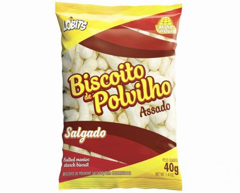 Repaginada na fórmula e na embalagem do biscoito de polvilho da Milho de Ouro