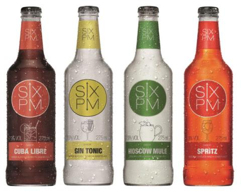Owens Illinois é a fabricante das garrafas SIX PM