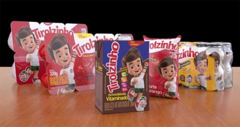Tirolzinho apresenta novidades aos pequenos consumidores de todo o Brasil