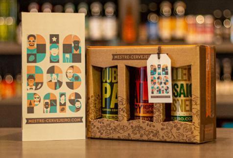 Dia dos Pais: presenteie com kit de cervejas da Mestre-Cervejeiro