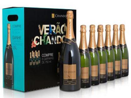 Chandon lança packs especiais para celebrar a chegada do verão
