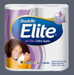 Elite lança nova embalagem de papel higiênico Ultra Folha Dupla