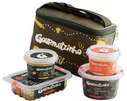 Gourmetzinho elabora embalagem especial para comidinhas em longas viagens