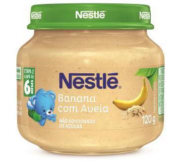 Papinhas Nestlé lançam novas embalagens com conceito