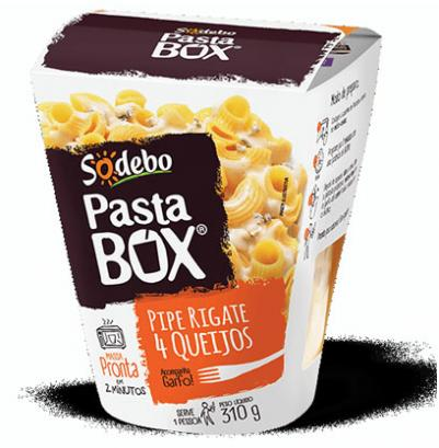 PastaBox é opção prática e gostosa para as férias de inverno