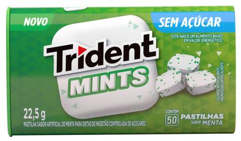 Trident chega ao mercado em versão pastilha