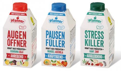 Pfanner agita o mercado de bebidas e lança uma linha na garrafa cartonada Combidome, da Sig