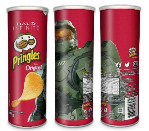 Pringles apresenta edição limitada de Halo Infinite
