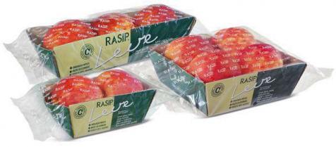 Rasip chega ao mercado com porções de macãs em embalagens mais práticas