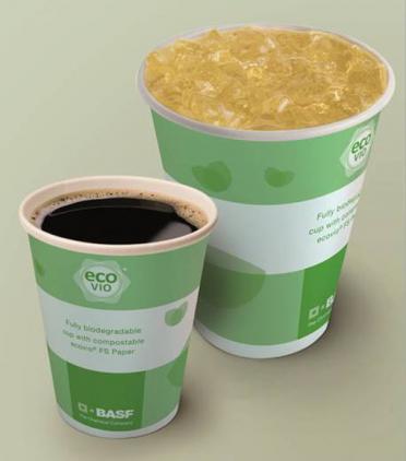 Revestimento com biopolímero compostável para descartáveis de papel