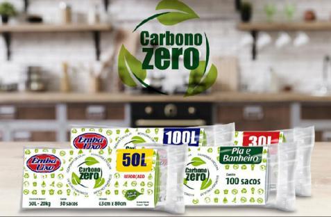 1º saco para lixo com zero emissão de carbono chega ao mercado