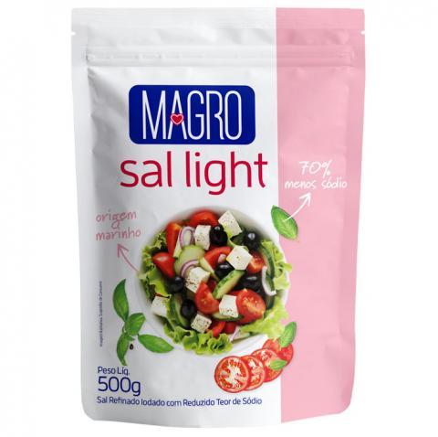 """Sal Light Magro agora em embalagem """"Abre e Fecha"""""""
