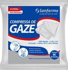 Sanfarma cria embalagem biodegradável para compressas de gaze