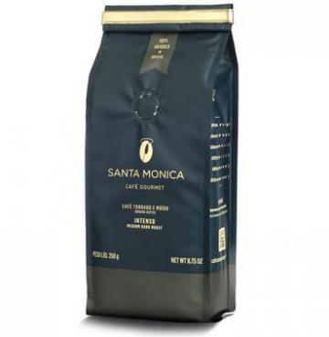 Santa Monica lança Café Moído Intenso e apresenta novas embalagens