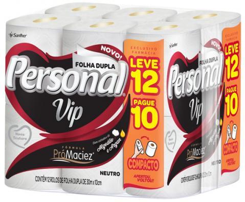 Santher lança embalagem promocional exclusiva de Personal Vip