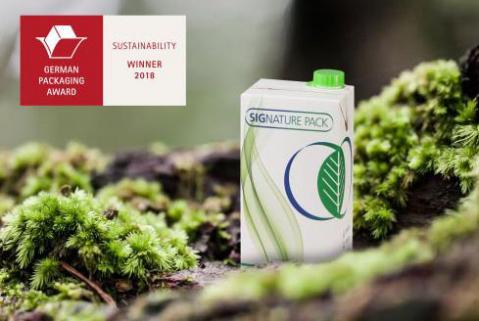 SIG ganha Prêmio Alemão de Embalagem pela Signature Pack