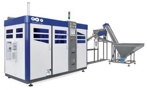 Iveria Aqua instala la máquina sopladora de PET Technologies
