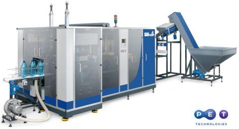 Jermuk Group reduce el peso de botella e instala la máquina sopladora de PET Technologies