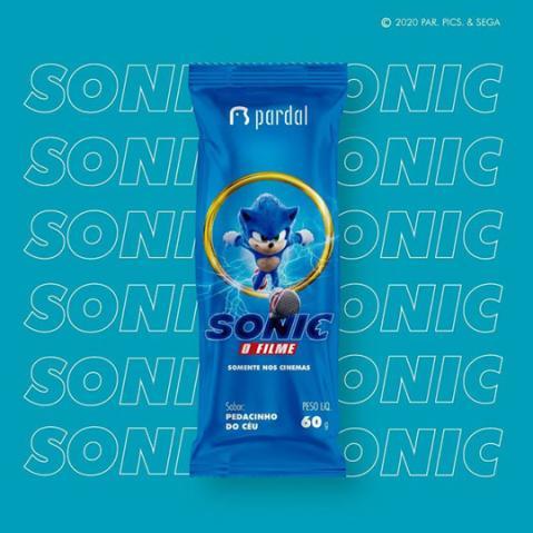 Pardal Sorvetes lança embalagem exclusiva de Sonic – O Filme