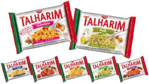 Linha Talharim ganha dois novos sabores e muda a embalagem