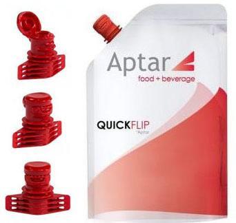 Tampa Quick Flip é sinônimo de flexibilidade e conveniência para embalagens