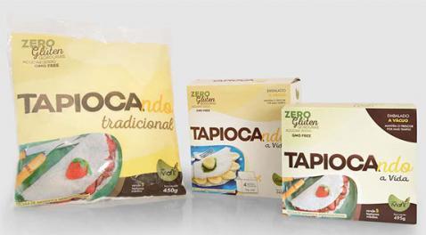 Tapiocando muda embalagem para aumentar sua participação no mercado