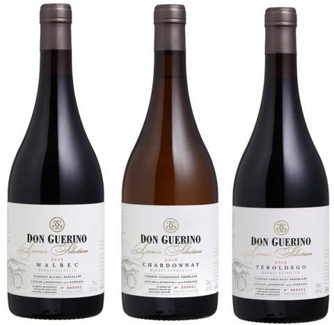 Terroir Selection Don Guerino se destaca com garrafa ébano da Verallia